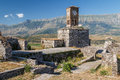 Medieval fortress of Gjirokaster town Royalty Free Stock Photo