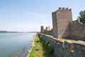 Medieval fortress on the river Danube in Smederevo Royalty Free Stock Photo