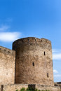 Medieval fortress in ukraine city belgorod dnestrovskiy Royalty Free Stock Photos