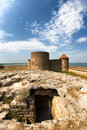 Medieval fortress in ukraine city belgorod dnestrovskiy Stock Photo