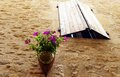 Medieval French house window Royalty Free Stock Photo