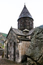 Medieval geghard monastery in armenia katoghiken church of Royalty Free Stock Photography