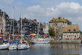 Medieval Honfleur Royalty Free Stock Images