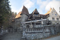 Medieval house a in sinaia romania Royalty Free Stock Image
