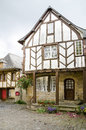 Medieval houses, France Royalty Free Stock Photography