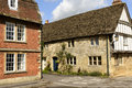Medieval houses , Lacock Royalty Free Stock Photo