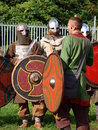Medieval infantry, Lublin, Poland Royalty Free Stock Photo