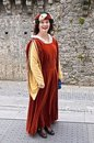 Medieval Irish Lady Royalty Free Stock Photography