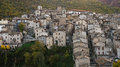 Medieval Italian Hill Town Stock Photo