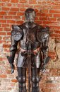 Medieval knight armor Royalty Free Stock Photo
