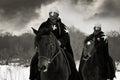 Medieval knights of St. John (Hospitallers)