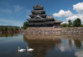 Medieval matsumoto castle japanese heritage Stock Photos