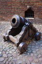 Medieval Mortar Cannon Stock Image