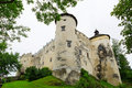 Medieval niedzica castle in poland Stock Photography