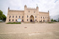 Medieval royal castle in lublin on july is the largest polish city east of the vistula river with historic architecture and Stock Photo