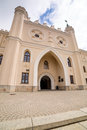 Medieval royal castle in lublin poland Stock Images