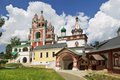 Medieval Savvino Storozhevsky monastery in Zvenigorod, Moscow region Royalty Free Stock Photo
