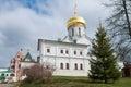 Medieval Savvino Storozhevsky monastery Royalty Free Stock Photo