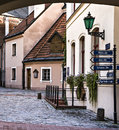Medieval square in old riga latvia a building the city of capital of latvian republic europe Stock Photo