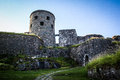 Medieval Stone Castle On The H...