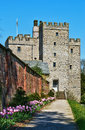 Medieval stone keep at Sizbergh Castle Royalty Free Stock Photo