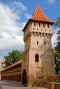 Medieval stone tower Royalty Free Stock Photo