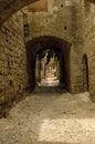 Medieval street Royalty Free Stock Photo