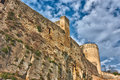 Medieval stronghold Stock Images