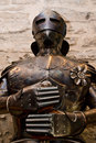 Medieval suit of armor Royalty Free Stock Photo