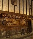 Medieval tavern 3 Royalty Free Stock Image