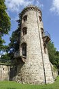 Medieval tower in bad saeckingen south west germany close to the swiss border Stock Photography