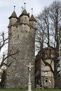 Medieval Tower of the City Wall Royalty Free Stock Photo