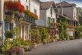 Medieval town of Brantome Royalty Free Stock Image