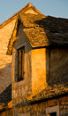 Medieval village on croatian island Brac Stock Image