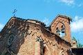 Medieval village: Grazzano Visconti - Church Royalty Free Stock Photo