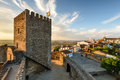 Medieval village of Monsaraz in Alentejo, Portugal Royalty Free Stock Photo