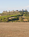The Medieval Village of Monteriggioni Royalty Free Stock Photo