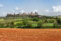 The medieval village of monteriggioni near siena tuscany italy Stock Photo