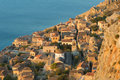 Medieval walled town of Monemvasia, Greece Royalty Free Stock Images