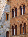 Medieval windows Royalty Free Stock Photo