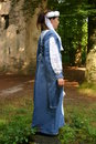 Medieval woman Royalty Free Stock Images