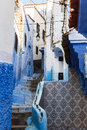 Medina of Chefchaouen in Morocco Royalty Free Stock Photo