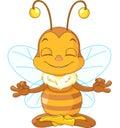 Meditating Bee