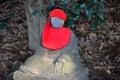 Meditating Buddha statue in Tokyo Royalty Free Stock Photo