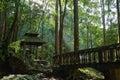A meditation hut Royalty Free Stock Photo
