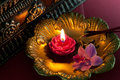 Meditation with incense stock photo relaxation and candle and Stock Photos