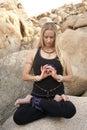 Meditation Mandala Royalty Free Stock Photos