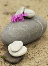 Meditation stones Stock Photo