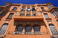 Mediterranea modernist house in Melilla, Spain Royalty Free Stock Images