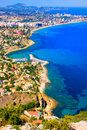 Mediterranean coast Stock Photography